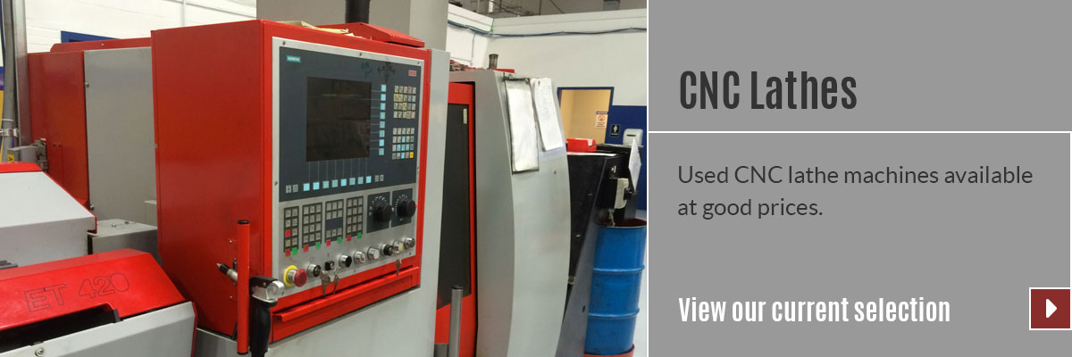 View our selection of CNC Lathes