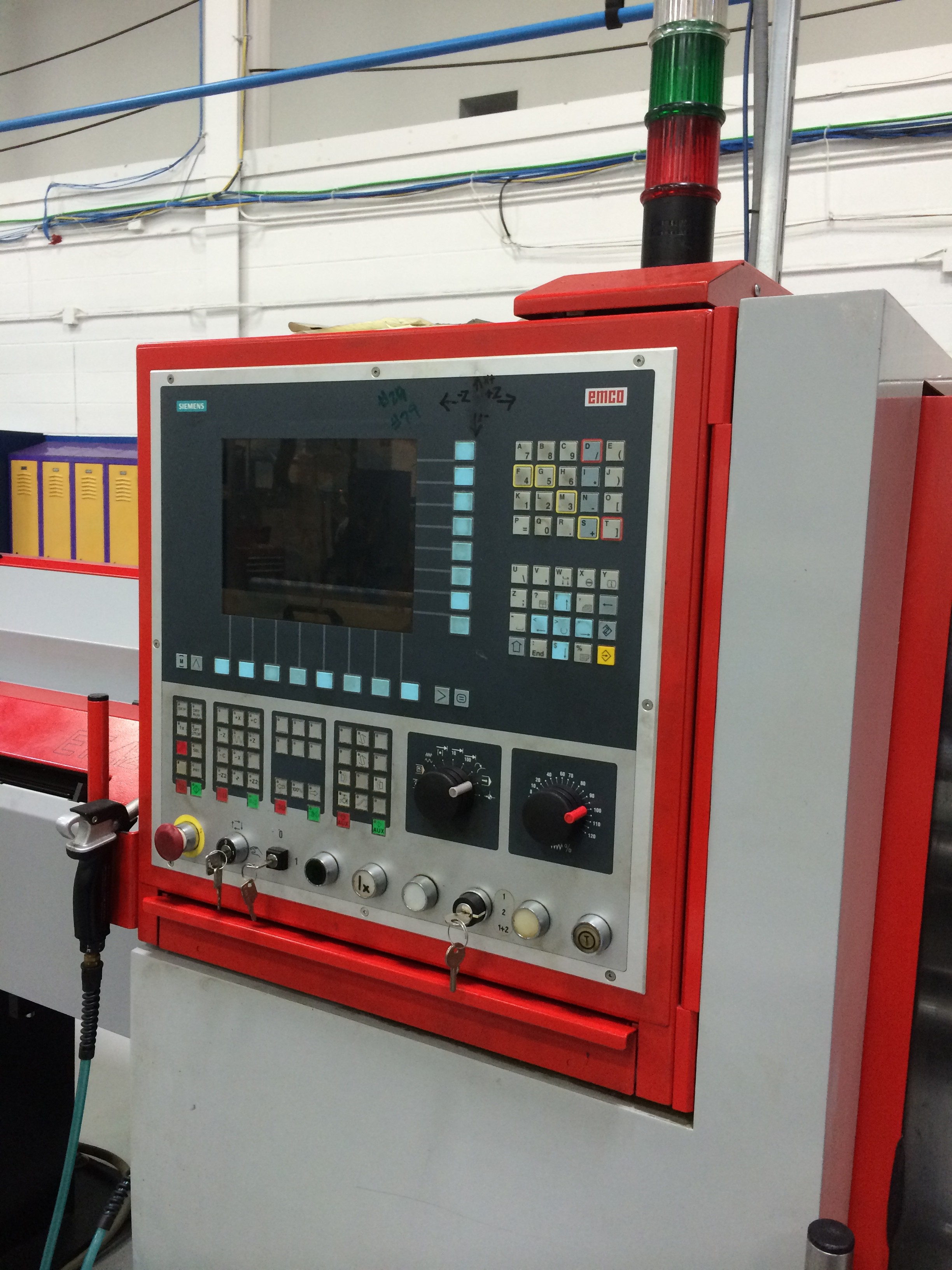 Wohnideen Hueter Rudolf emco early emco compact cnc fitted with the optional position