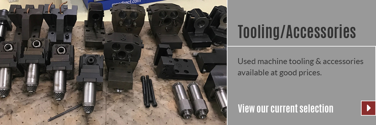 View our selection of Tooling & Accessories